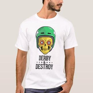 Roller Derby Skull T-Shirt