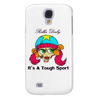 Roller derby tough sport Iphone Case Galaxy S4 Case