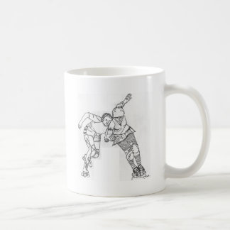 Roller Derby - Yesterday and Today Mug