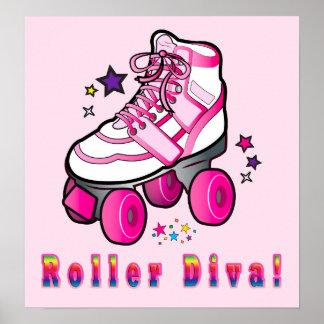 Roller Diva Poster
