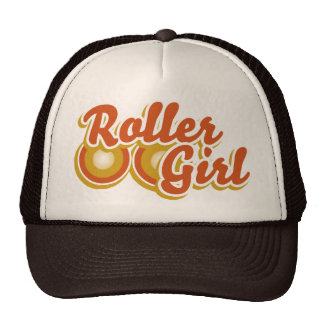 Roller Girl in the Derby Mesh Hat