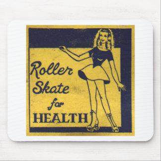 Roller Girl Mouse Mat