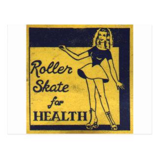 Roller Girl Postcard