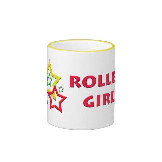 Roller Girl Ringer Mug