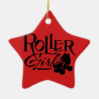 Roller Girl, Roller Derby Christmas Ornament