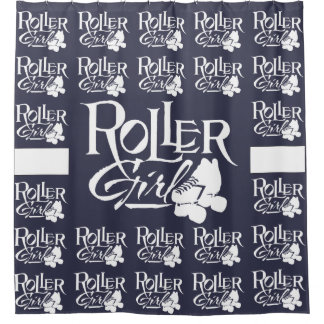 Roller Girl, Roller Derby Shower Curtain