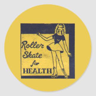 Roller Girl Stickers