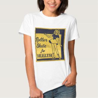 Roller Girl T Shirt
