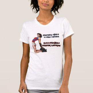 Roller Girls Break Necks T Shirt