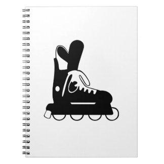 Roller Hockey Skate Journal