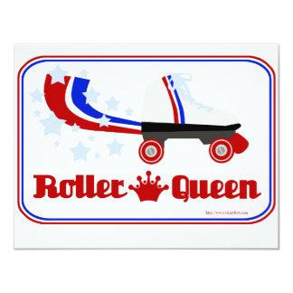 Roller Queen 11 Cm X 14 Cm Invitation Card