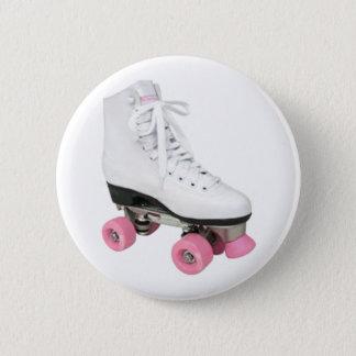 Roller Skate 6 Cm Round Badge