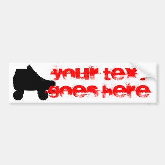roller skate bumper stickers