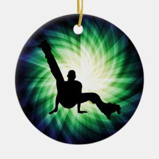 Roller Skate Dancing Christmas Ornament