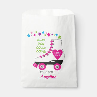 Roller Skate Favor or Party Bag for Goodies!
