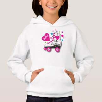 Roller Skate Personalized Hoodie