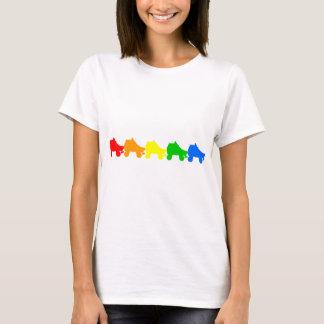 roller skate rainbow T-Shirt