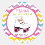 Roller Skate Stickers / Roller Skate Favour Tags