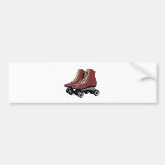 Roller Skates Bumper Sticker