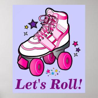 Roller Skates: Let's Roll! Poster