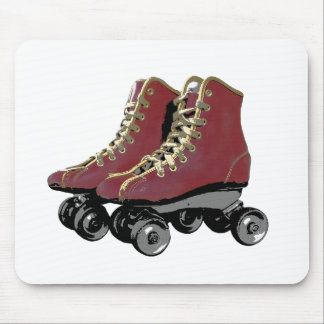 Roller Skates Mouse Pad