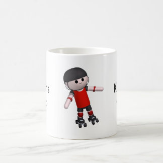 roller-skates coffee mug