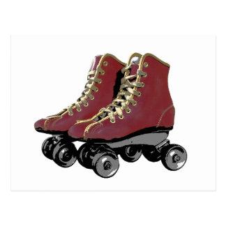 Roller Skates Postcard