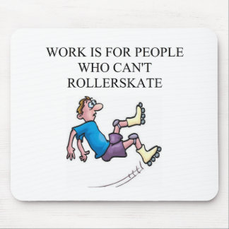 roller skating accident mouse mat