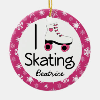 Roller Skating Personalized Ornament Gift