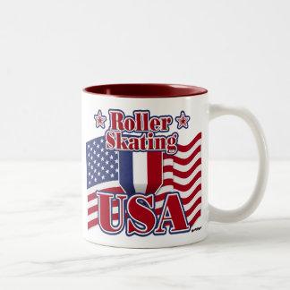 Roller Skating USA Coffee Mug