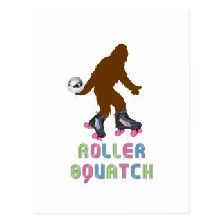 Roller Squatch Postcard