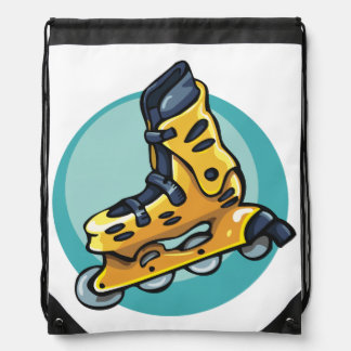 Rollerblade Drawstring Backpack
