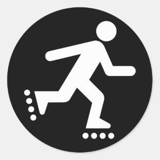 Rollerblade Symbol Sticker