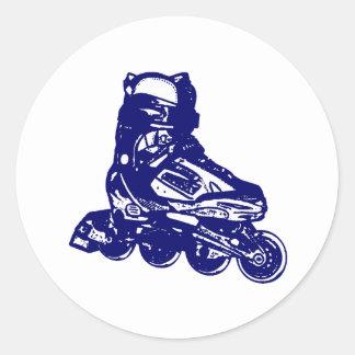 Rollerblades Classic Round Sticker