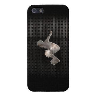 Rollerblading; Cool Black iPhone 5 Case