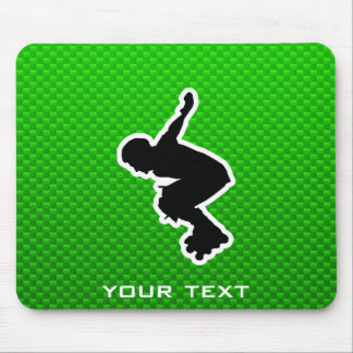 Rollerblading cop mouse pad
