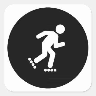 Rollerblading Sticker