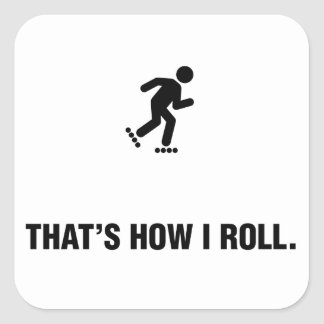 Rollerblading Stickers