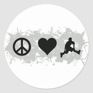Rollerblading Stickers