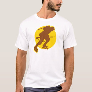 Rollerblading WWII T-Shirt
