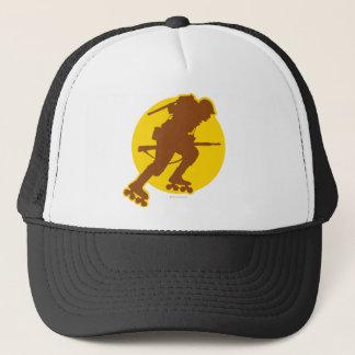 Rollerblading WWII Trucker Hat