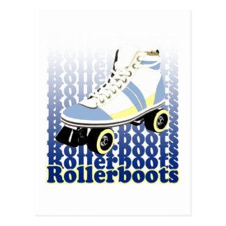 Rollerboots Postcard
