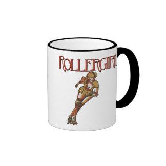 Rollergirl jammer ringer mug
