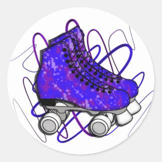 Rollerskates Sticker