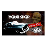 Rollin' Bones Hot Rods Pack Of Standard Business Cards