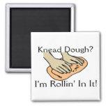 Rollin' Dough Refrigerator Magnet