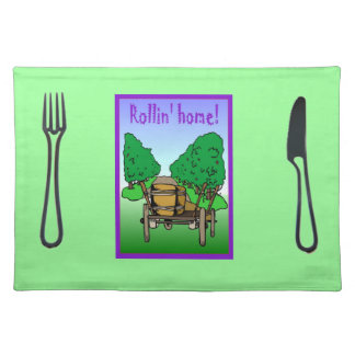 Rollin' Home Placemat
