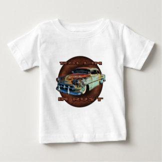 Rollin in rust Tail Dragger Chopped Chevy Baby T-Shirt