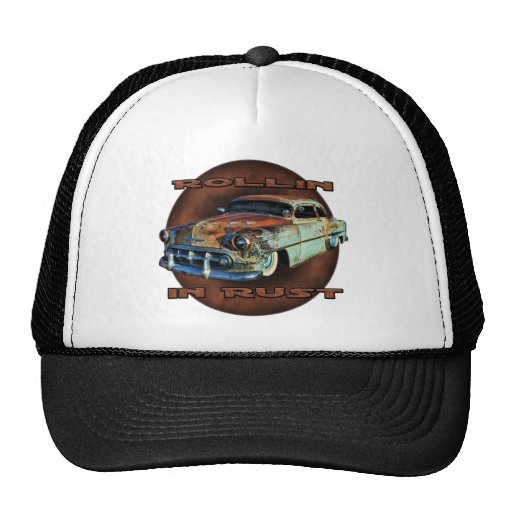Rollin in rust Tail Dragger Chopped Chevy Hat