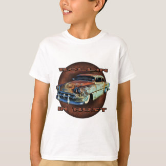 Rollin in rust Tail Dragger Chopped Chevy T-Shirt